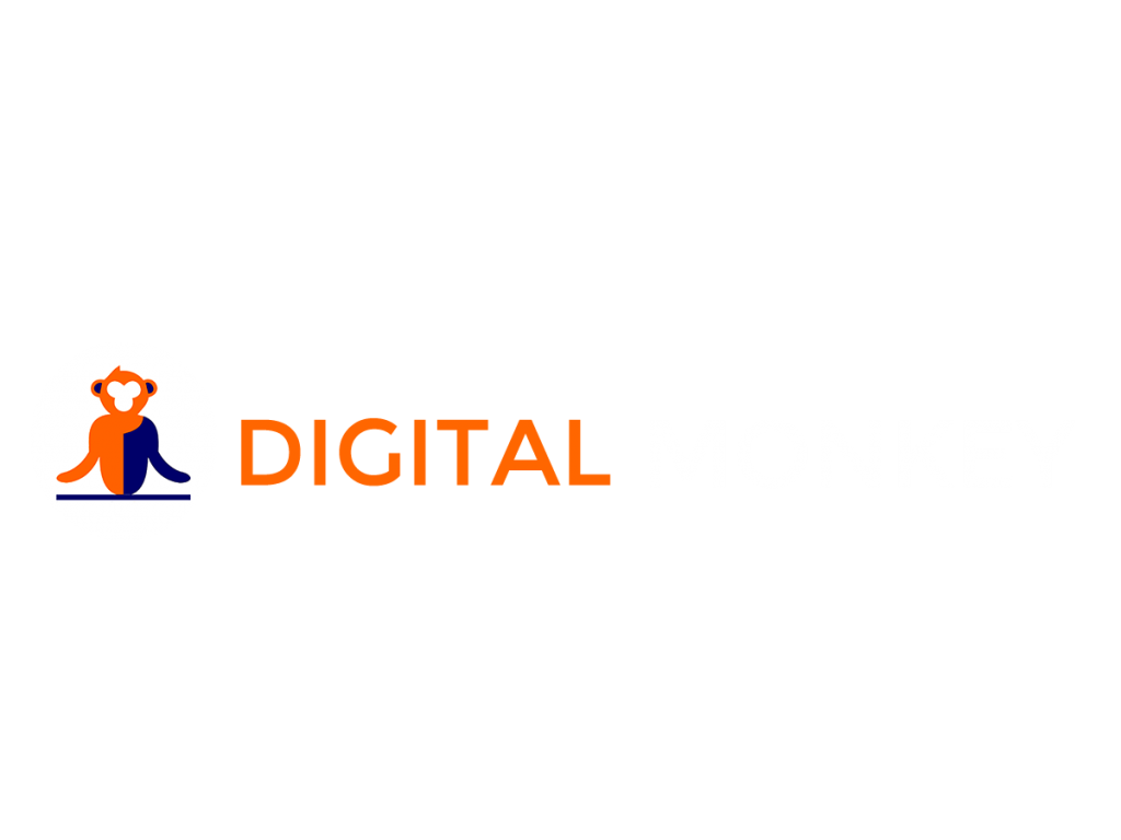 Digital monkey logo